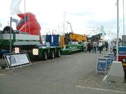 Goldhofer 3 bed 5 trailer at SED07 - DSCF0003