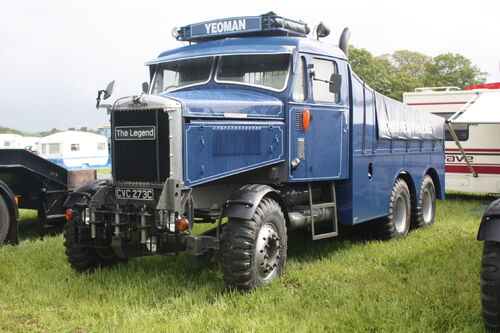 Yeoman Scammell constructor CVC 273C The Legend at Belvoir 09 - IMG 8375