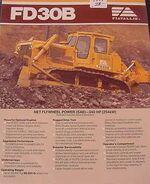 FIATALLIS FD30B crawler