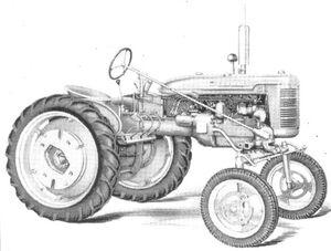 McCormick Farmall Super AV 1948