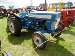 Ford 3000 super dexta at Astwood Bank