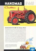 Hanomag R 440 Combitraac ad - 1959