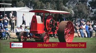 Booleroo Steam & Traction Rally 2017