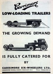Carrimore advert - graces guide - Im19380701CM-Carri