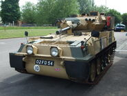 Alvis Scorpion Light Tank