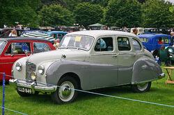 Austin A70 Hampshire front