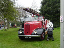 Dennis fire engine at Sandbach