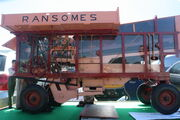 Ransomes thresher instructional model - at Woolpit 09 - IMG 1403