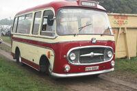 Bedford coach - PVV 888J at Cromford 2010 - IMG 9792