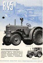 Hanomag R 45 - 1951-57