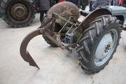 Mole plough on a Ferguson- IMG 5056