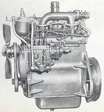 International BD-144 engine 1960