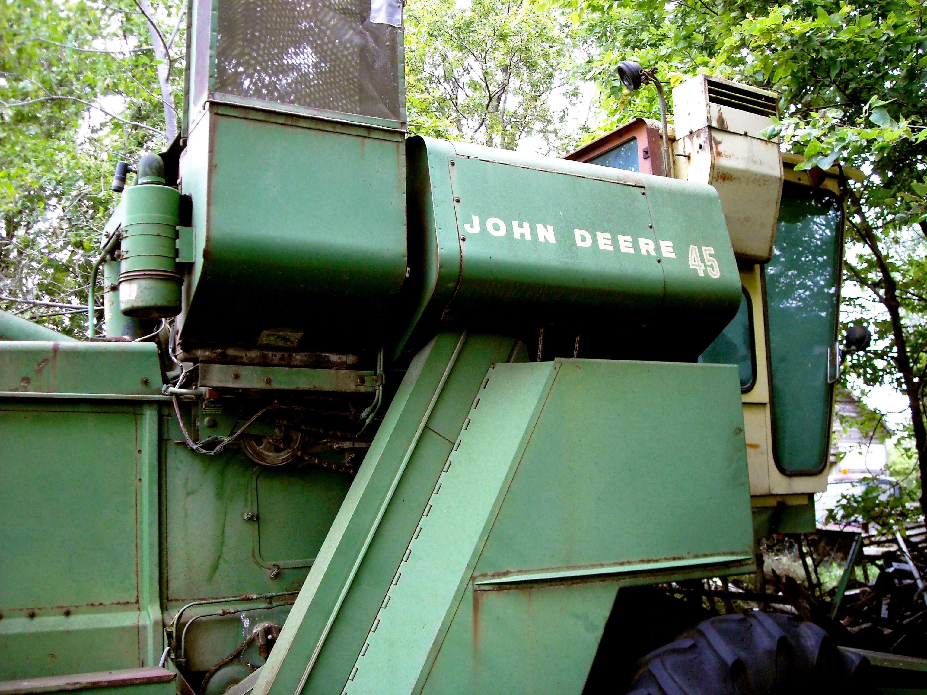 John Deere Combines History John Deere Combine 14