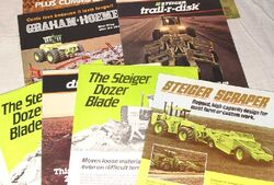 Steiger implement brochures