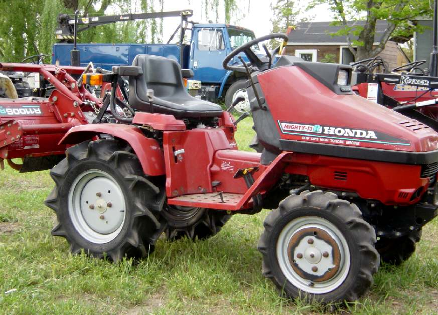 Honda Mighty 13 R | Tractor & Construction Plant Wiki ...