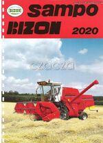 Bizon Sampo 2020 combine brochure - 1992