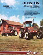 Hesston 980 & 980 DT MFWD brochure - 1981