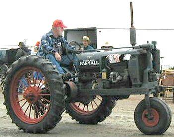 McCormick-Deering Farmall F12