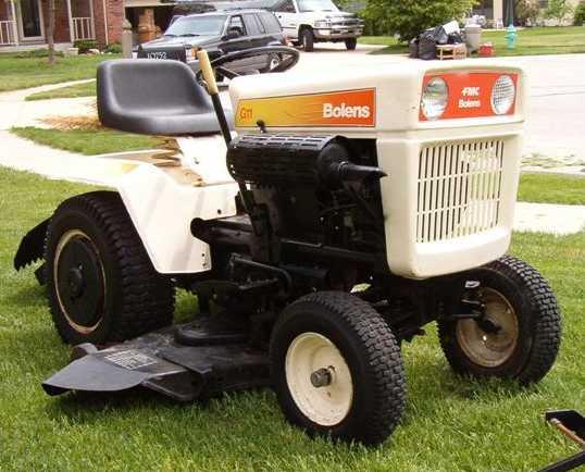 Bolens G11 Tractor Amp Construction Plant Wiki Fandom