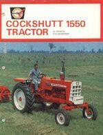 Cockshutt 1550 ad WF