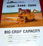 MM 3496 combine brochure