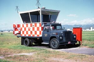Mobile air traffic control tower