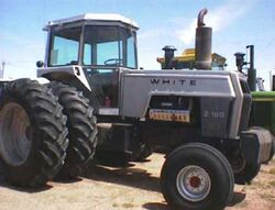 White 2-180 w duals (grey) - 1979