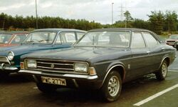 Ford Cortina III 2000E in England 1973