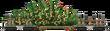 Santa's Tree Carrier wood wagon