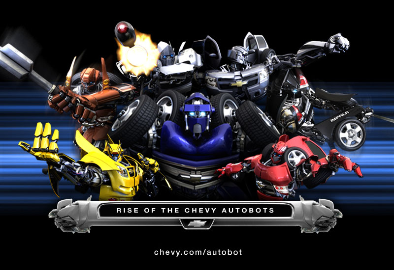 Transformers Rise of the Chevy Autobots  Teletraan I The