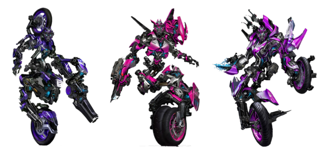 File:Flare Up Arcee Chromia by LimeWire org.png