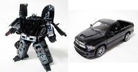 BTBlackConvoy toy