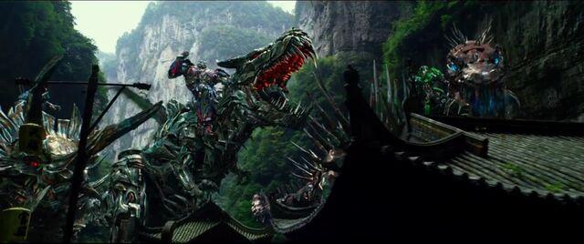 File:Drift Riding Slug Optimus Riding Grimlock Crosshairs Riding Scorn 2.jpg