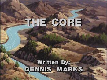 The Core title shot