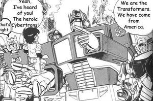 FightSuperRobotLifeTransformersManga