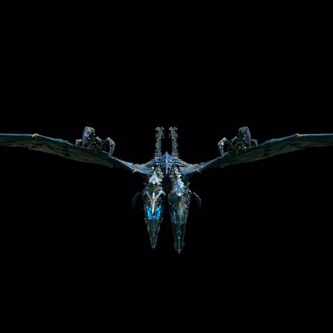 CGI Strafe featured in Transformers 4 Age of Extinction Featurette Dinobots VFX