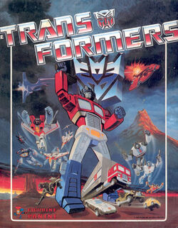 Transformers stickerbook panni86