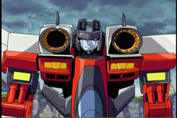 AStarscream cartoon