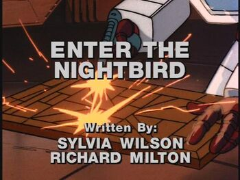Enter the Nightbird title shot