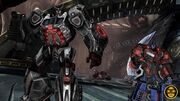 Wfc-ratchet&optimusprime-game-iacon