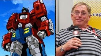 The Voice of Prime Garry Chalk Interview
