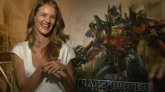 Rosie Huntington-Whiteley Interview - Transformers 3 Dark of the Moon