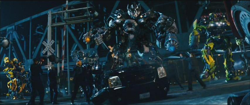 Transformers live action movie 2003