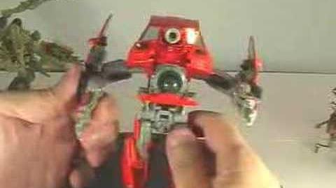 Transformers swindle movie toy