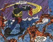 G1 Grimlock vs demons