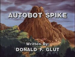 Autobot Spike title shot