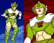 Femaleautobot green