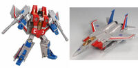 Henkei Starscream toy