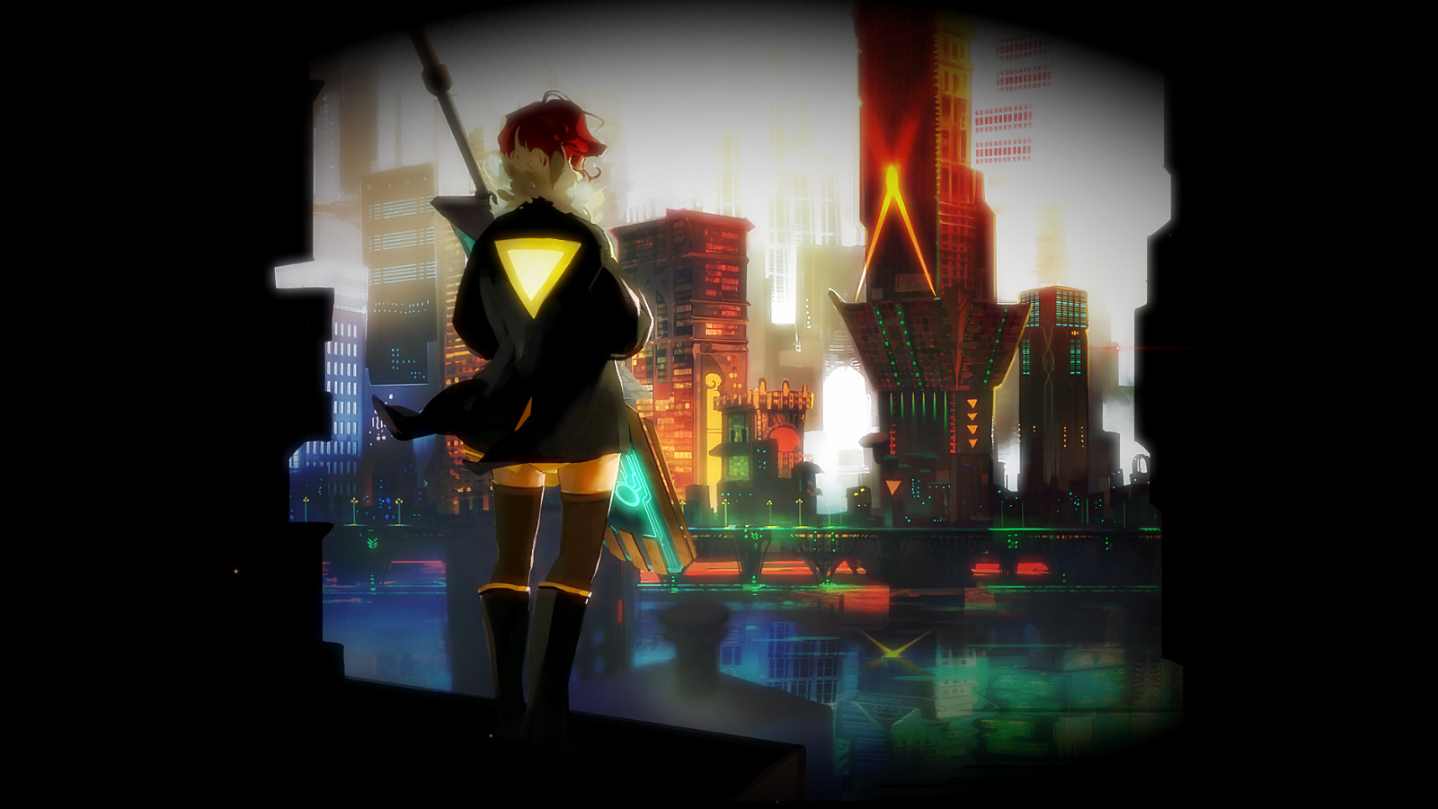 how to start a new game in transistor