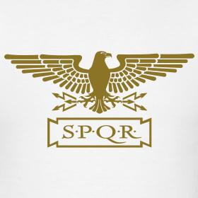 Roman-eagle-gold-version design